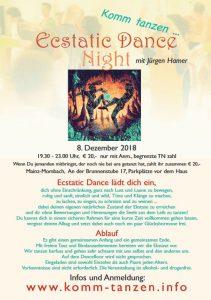 Ecstatic Dance Night mit Jürgen Hamer @ Mainz | Rheinland-Pfalz | Deutschland