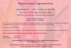 Biodanza Aqua Tagesworkshop @ Schneverdingen | Niedersachsen | Deutschland