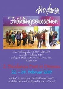 Frühlingserwachen - 2. Biodanza Fest in Dessau