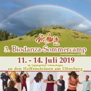 3. Biodanza-Sommercamp mit Barbara Schlender & Erhard Söhner @ Tagungshaus Lebensbogen