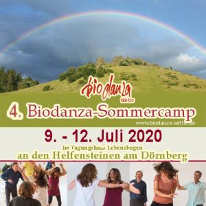 4. Biodanza-Sommercamp mit Barbara Schlender & Erhard Söhner @ Tagungshaus Lebensbogen