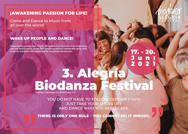 Alegria Biodanza Festival Glarisegg